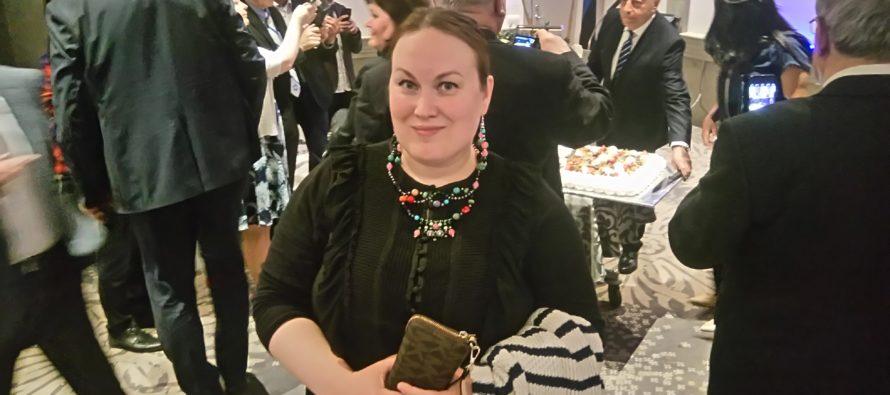 Israels 69:e födelsedagsfirande i Estland och Finland + FOTON (inbjudan, present till ambassadören och Israel69-smycken)