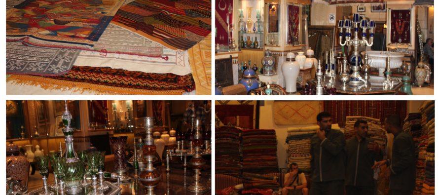 """Helena-Reet: """"Chateau Des Souks"""" i Marrakech – Marockanska handvävda exklusiva mattor! GALLERIA!"""