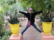 Marrakech, Marocko: den berömda trädgården Majorelle och Yves Saint Laurent