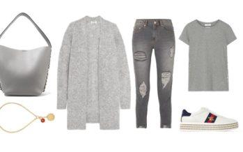 LUXURY shopping – Vårligt grått set (Look #1)