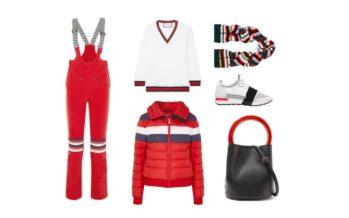 LUXURY shopping – Sportigt rött & vitt set (Look #2)
