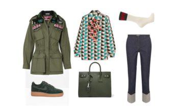 LUXURY shopping – Navy green till dagligt bruk (Look #3)