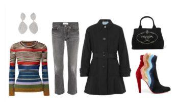 LUXURY shopping – Svart och ränder (Look #4)