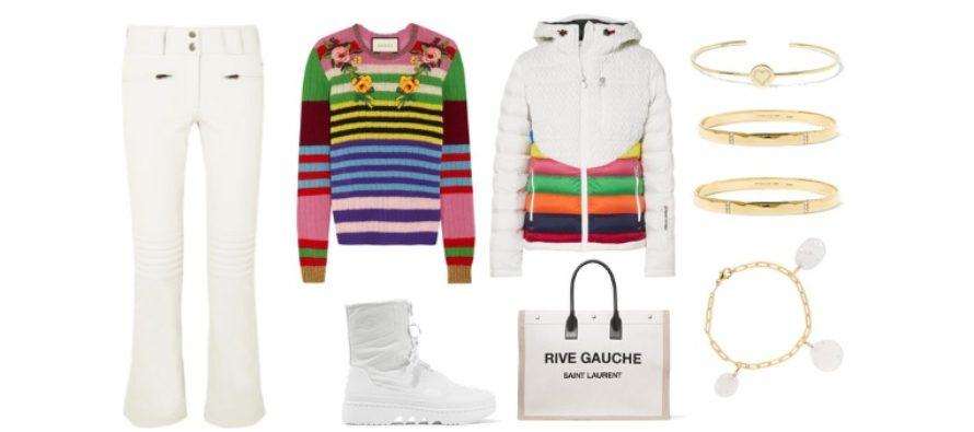 LUXURY shopping – Sportigt, randigt & vitt set (Look #6)