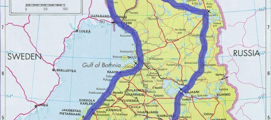 Helena-Reet: Jag planerar en lång bilresa till Finland med barnen – 350 mil från Helsingfors till norra Finland, längs den svenska gränsen till den norska gränsen och genom inlandet tillbaka