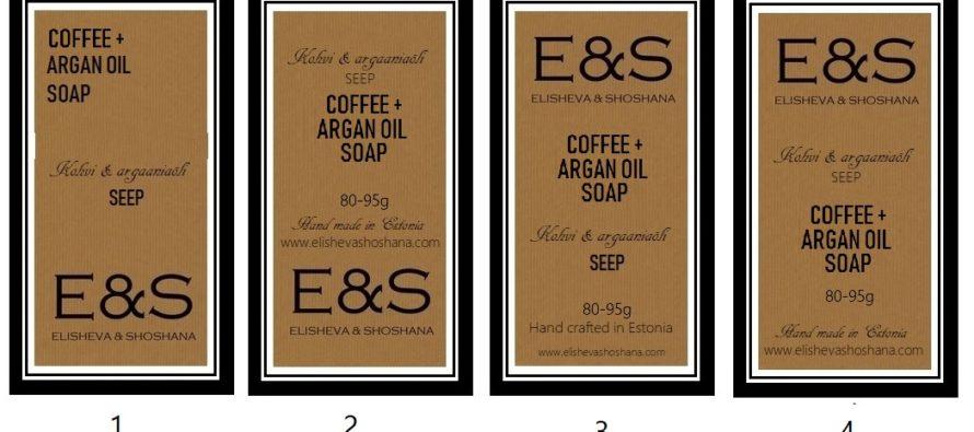 Helena-Reet: Utveckling av Elisheva & Shoshana – tillverkning av tvål, etiketter och recept