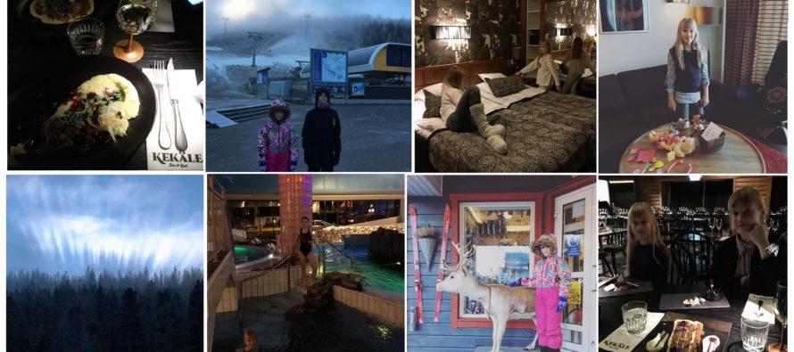 Helena-Reet: Med barnen runt Finland med bil (VOL6 – Levi Hotel SPA i Sirkka, restaurang Kekäle, fantastisk natur, skidbackar osv osv) + MASSOR MED BILDER!