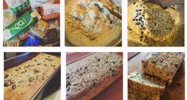 Recept: Nordiskt tunnbröd eller små filmjölksbröd med hampafrö och lönnsirap