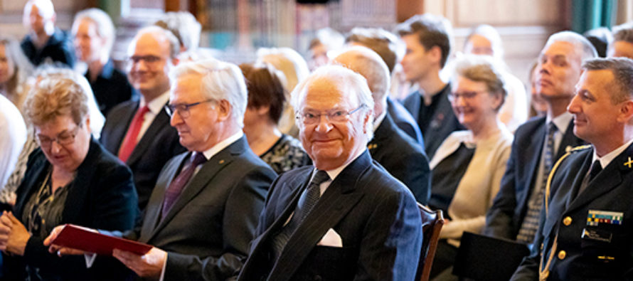 Sverige: Kungen närvarade vid 70-årsjubileet av Stiftelsen Konung Gustaf V:s 90-årsfond