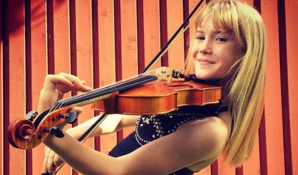 Trettonåriga estniska violinisten Estella Elisheva om sina konserter i Japan: Nu måste jag börja komponera själv