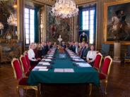 Sverige: Informationskonselj på Kungliga slottet