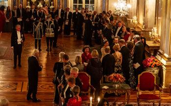 Sverige: Representationsmiddag på Kungliga slottet + VIDEO