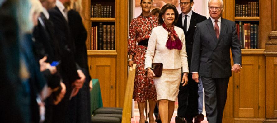 Sverige: Kungaparet och Kronprinsessparet vid seminarium om teknik och hållbarhet