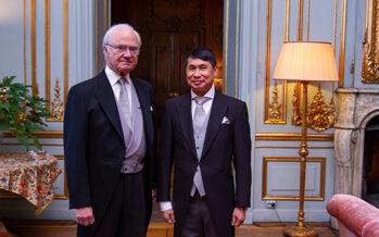Sverige: Kungen höll avskedsaudiens