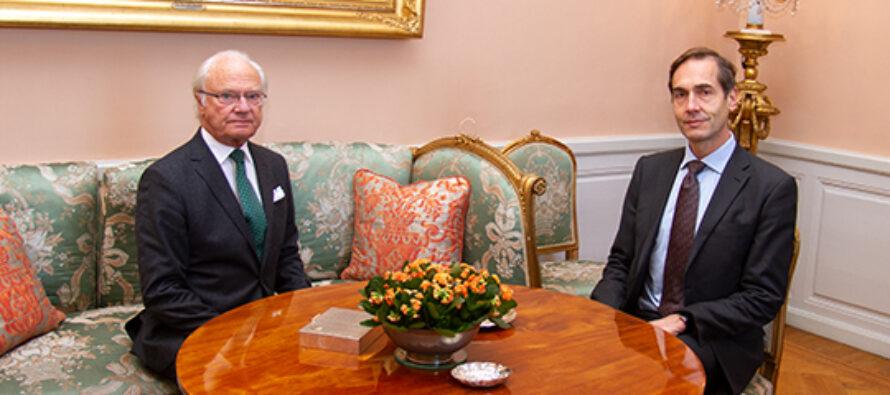 Sverige: Kungen gav företräde för Svenska Akademiens ständige sekreterare