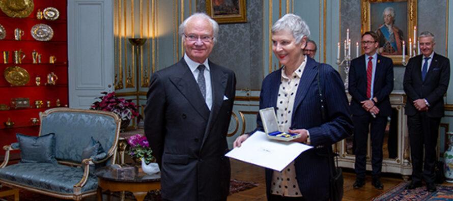 Sverige: Kungen delade ut Prins Eugen‑medaljen