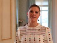 Sverige: Kronprinsessan skickade en hälsning till Vårdgalan